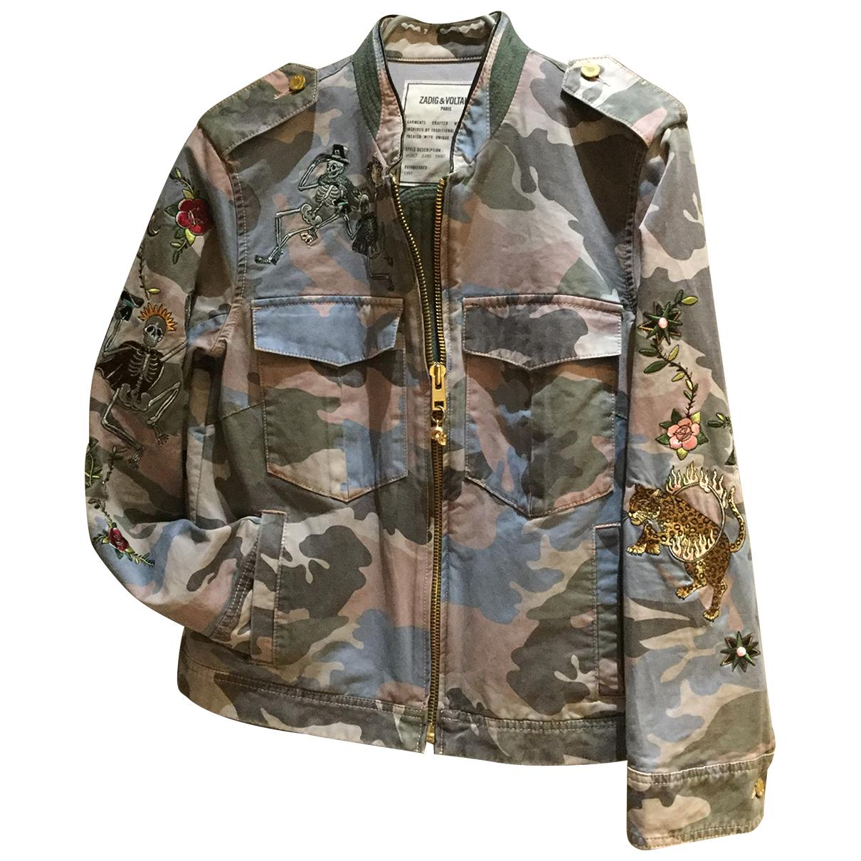 Zadig & Voltaire \N Multicolour Cotton jacket for Women M International