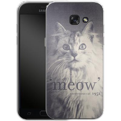 Samsung Galaxy A5 (2017) Silikon Handyhuelle - Famous Quote Cat von Florent Bodart