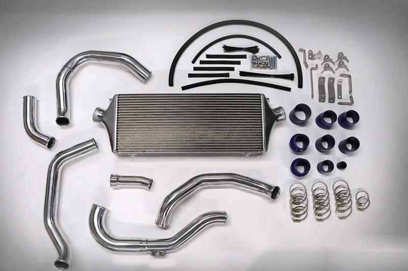 HKS 13001-KB001 Front Mount S Type Intercooler Kit Hyundai Genesis 2.0 Turbo MT 2010