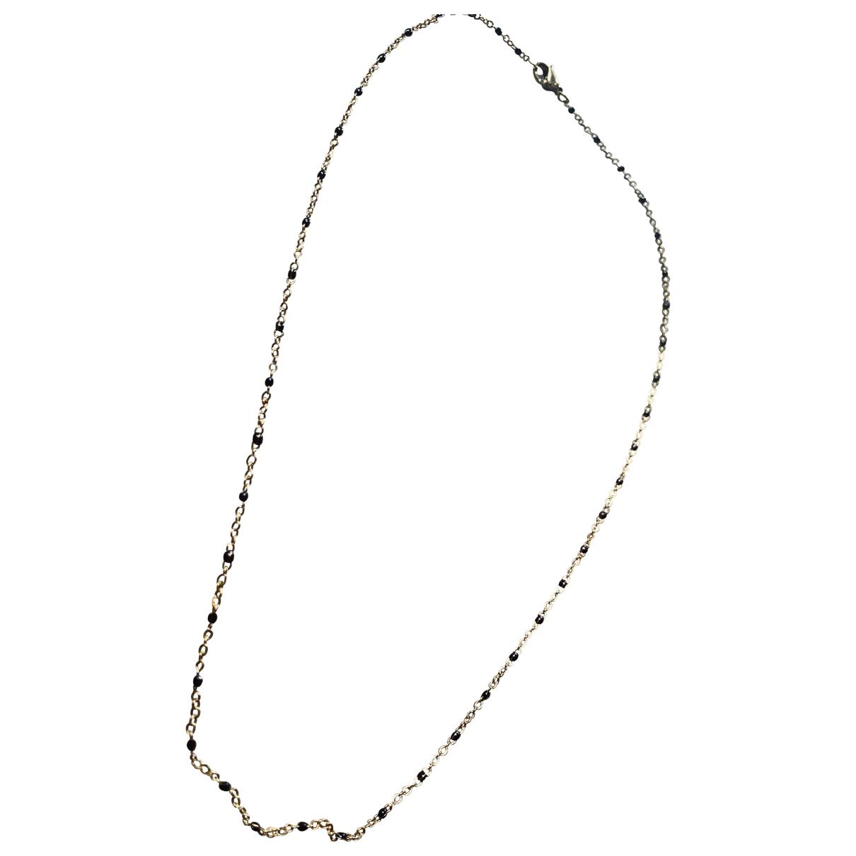 - Collier   pour femme en perles - dore