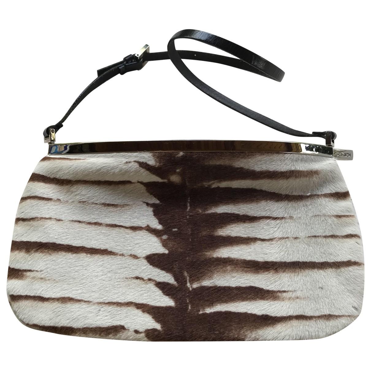 Fendi \N Brown Pony-style calfskin handbag for Women \N