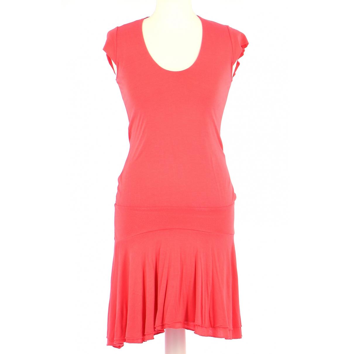 Patrizia Pepe \N Kleid in  Rosa Baumwolle