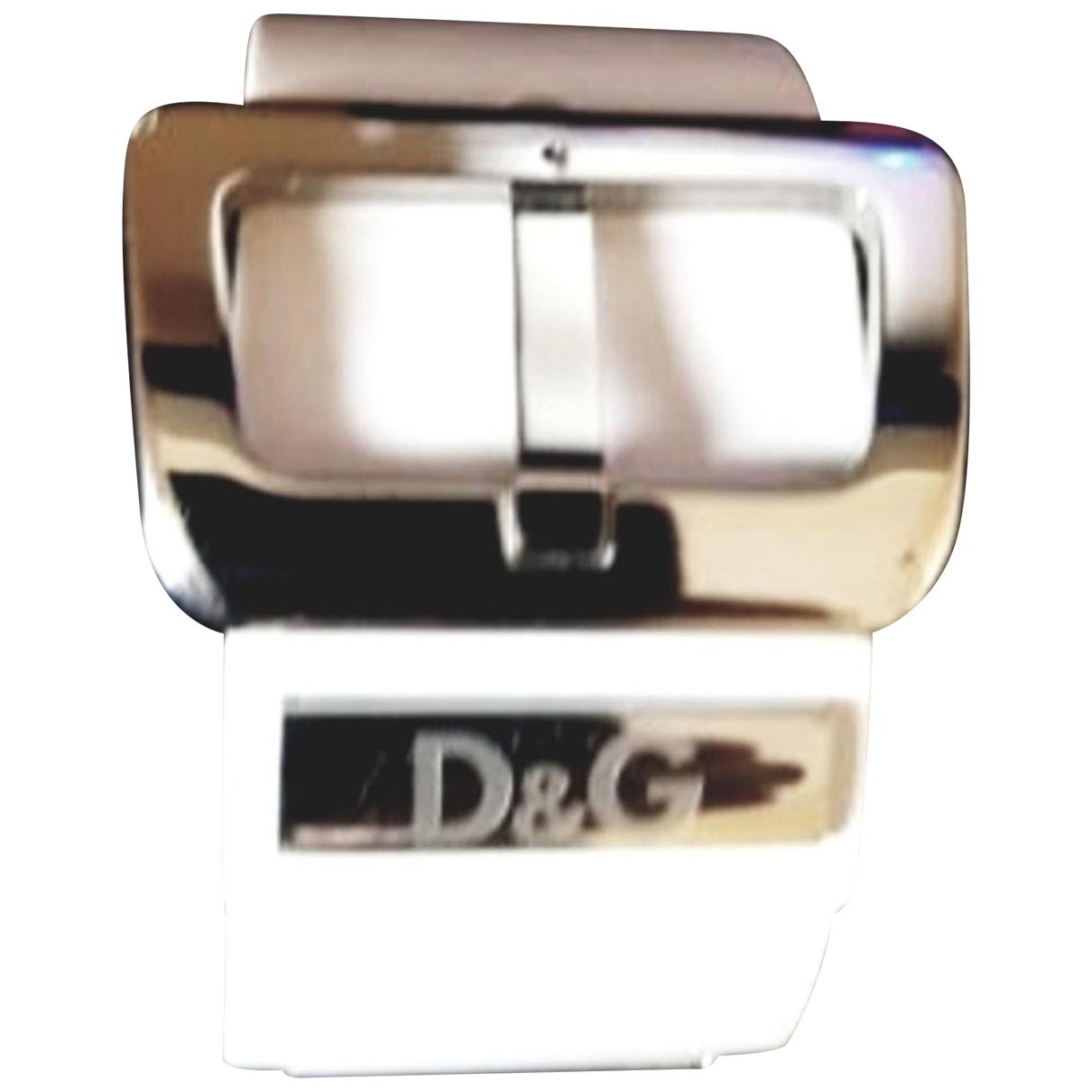 Dolce & Gabbana \N White Metal bracelet for Women \N