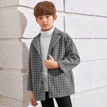 Taschen  Kariert  Laessig Jungen Oberbekleidung