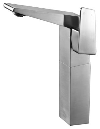 AB1475-BN Tall Bathroom Faucet with Brass  Valve  Single Lever Control  Single Hole Deck Mount Installation  UPC Certified and 5 Year Warranty in