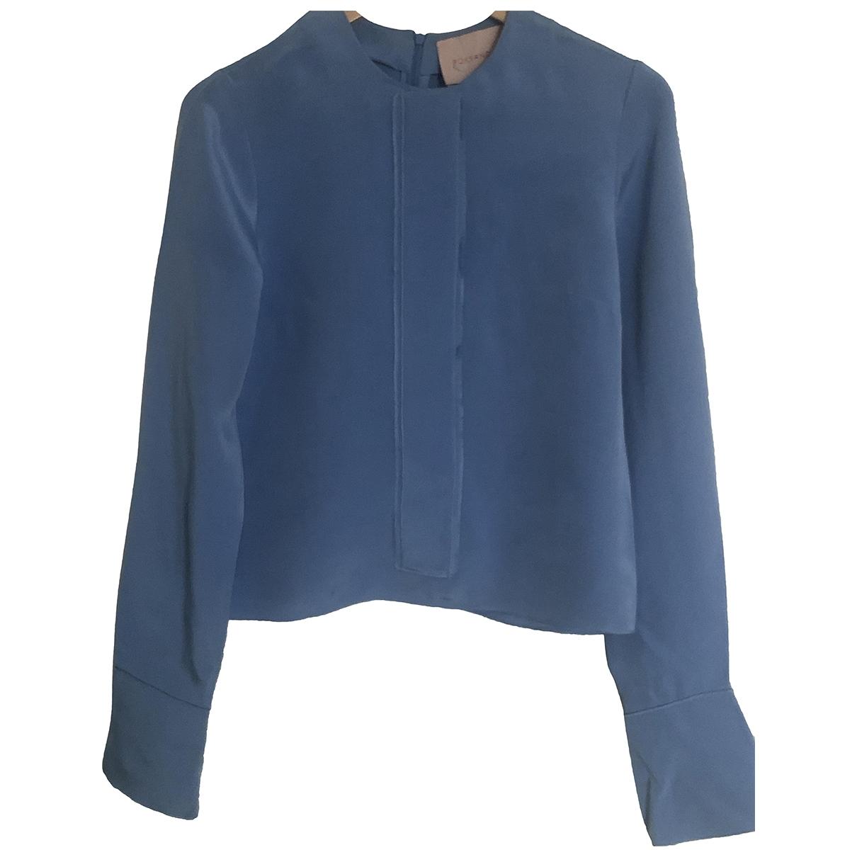 Roksanda \N Blue Silk  top for Women 8 UK