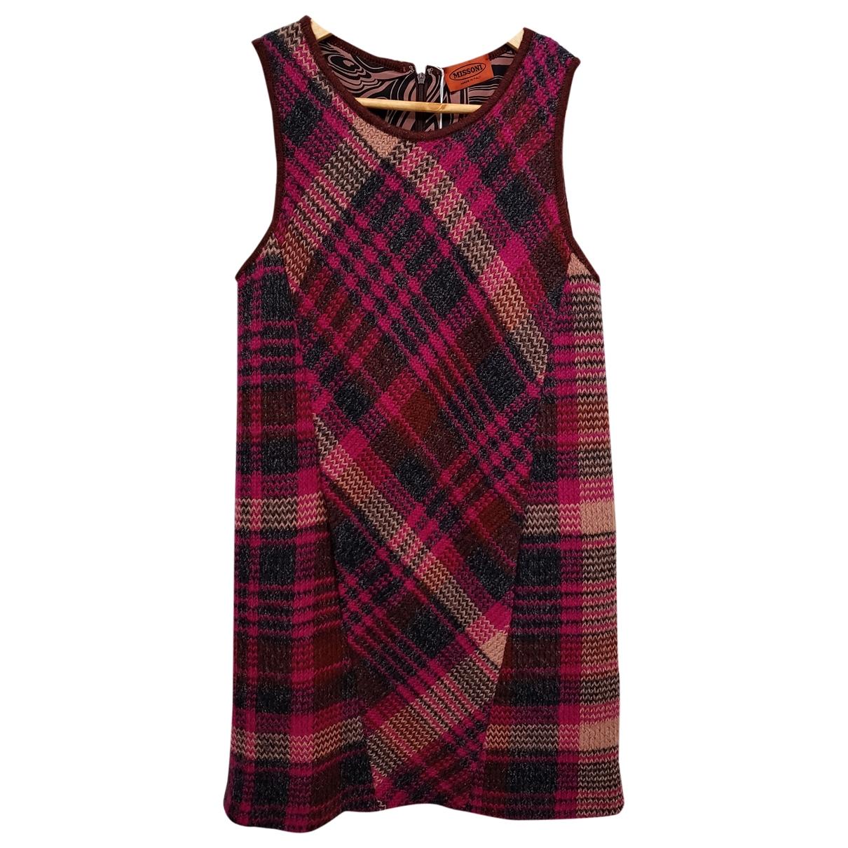 Missoni \N Kleid in  Lila Wolle