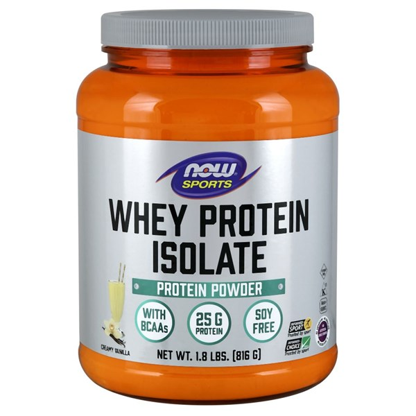 Whey Protein Isolate 1.8 lb by Now Foods
