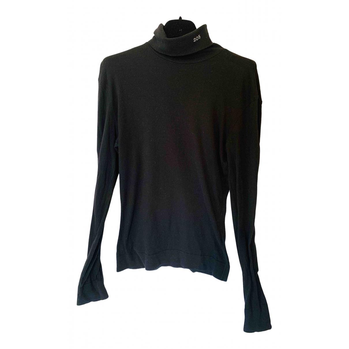 Calvin Klein 205w39nyc \N Pullover.Westen.Sweatshirts  in  Schwarz Baumwolle