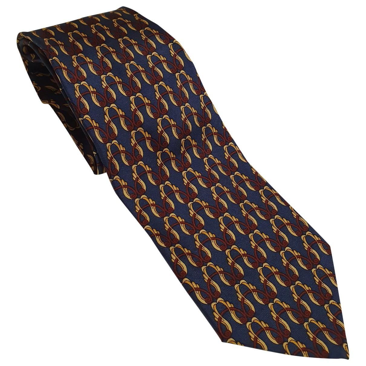 Ted Lapidus \N Krawatten in  Bunt Seide
