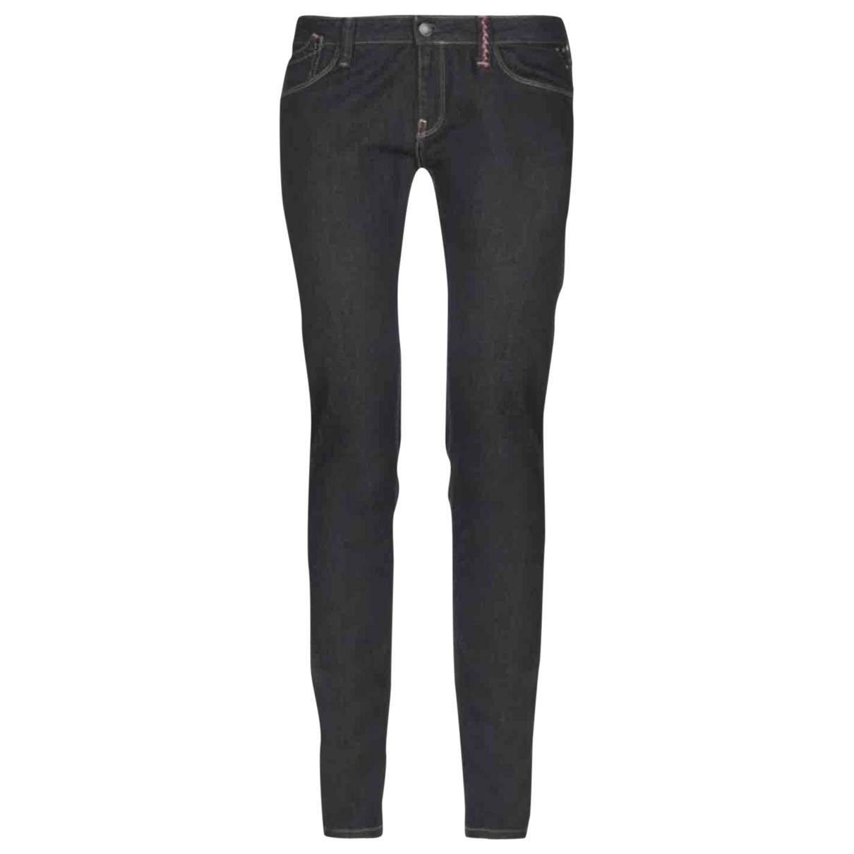 Replay \N Blue Cotton - elasthane Jeans for Women 34 FR