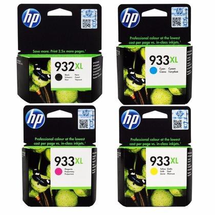 HP 932XL 933XL cartouche d'encre originale combo haute capacité BK/C/M/Y