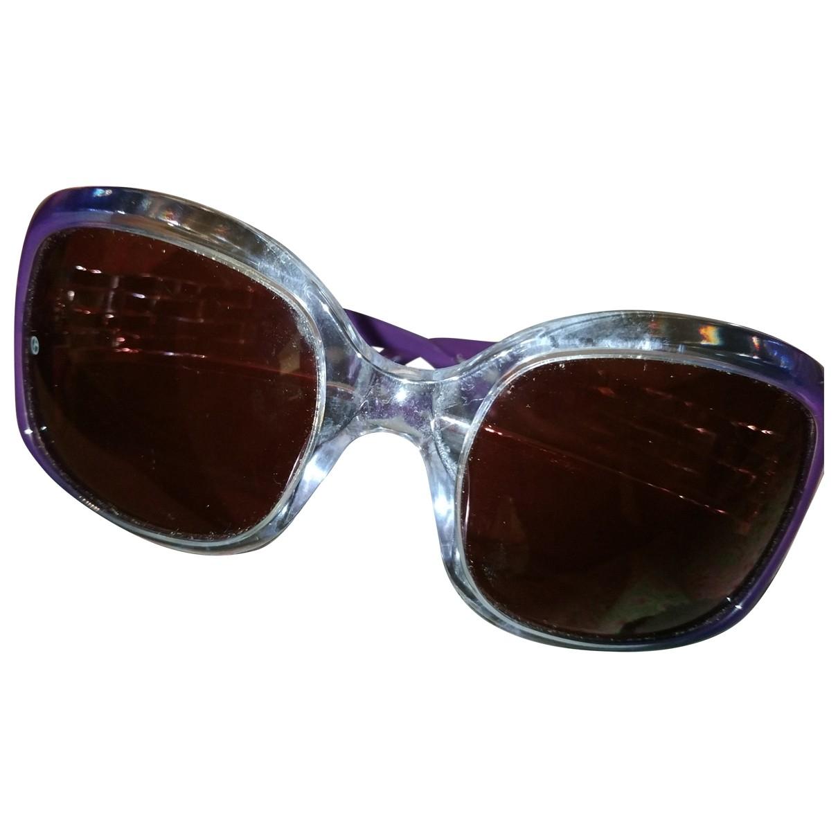 Giorgio Armani \N Sonnenbrillen in  Lila Kunststoff