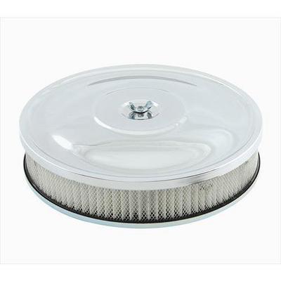 Mr. Gasket Company Custom Style Air Cleaner (Chrome) - 9798