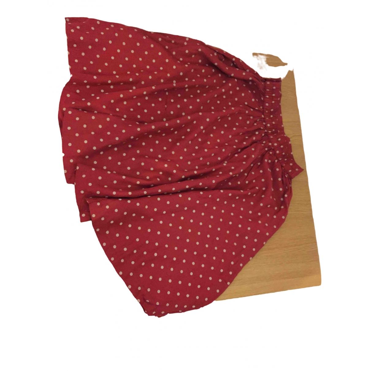 I Pinco Pallino - Jupe   pour femme en coton - rouge