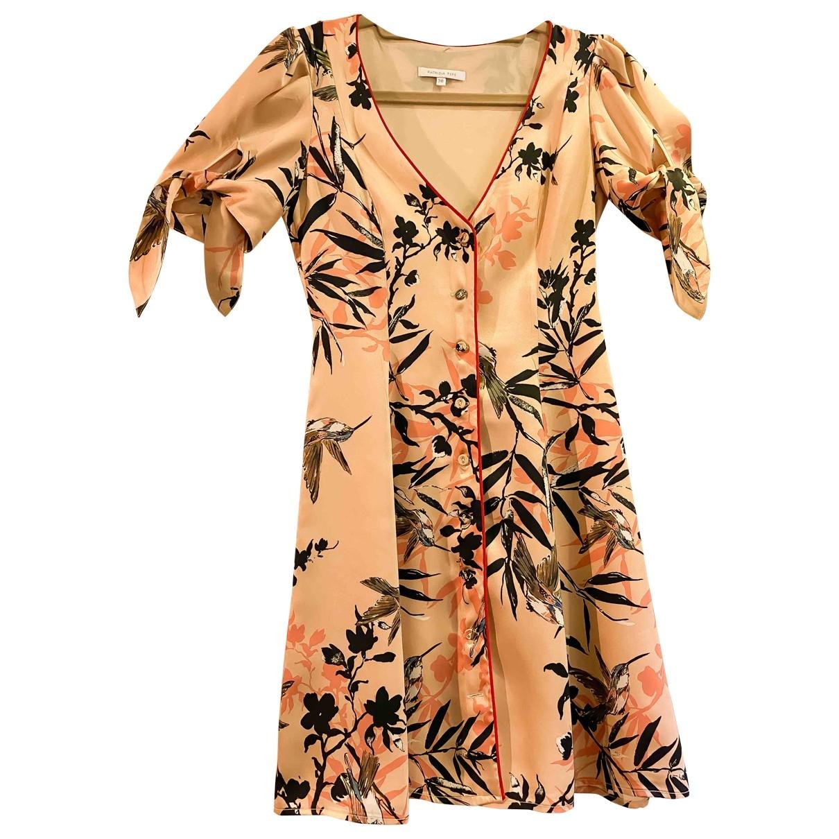Patrizia Pepe \N Kleid in  Rosa Polyester