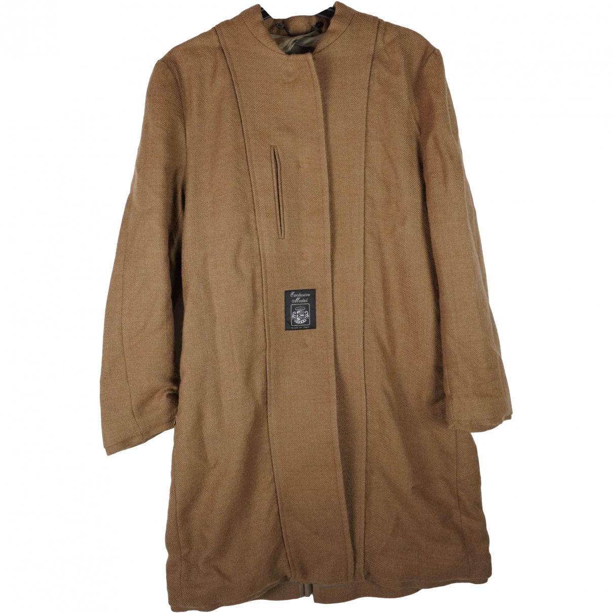Maison Martin Margiela \N Beige Wool coat for Women 36 IT