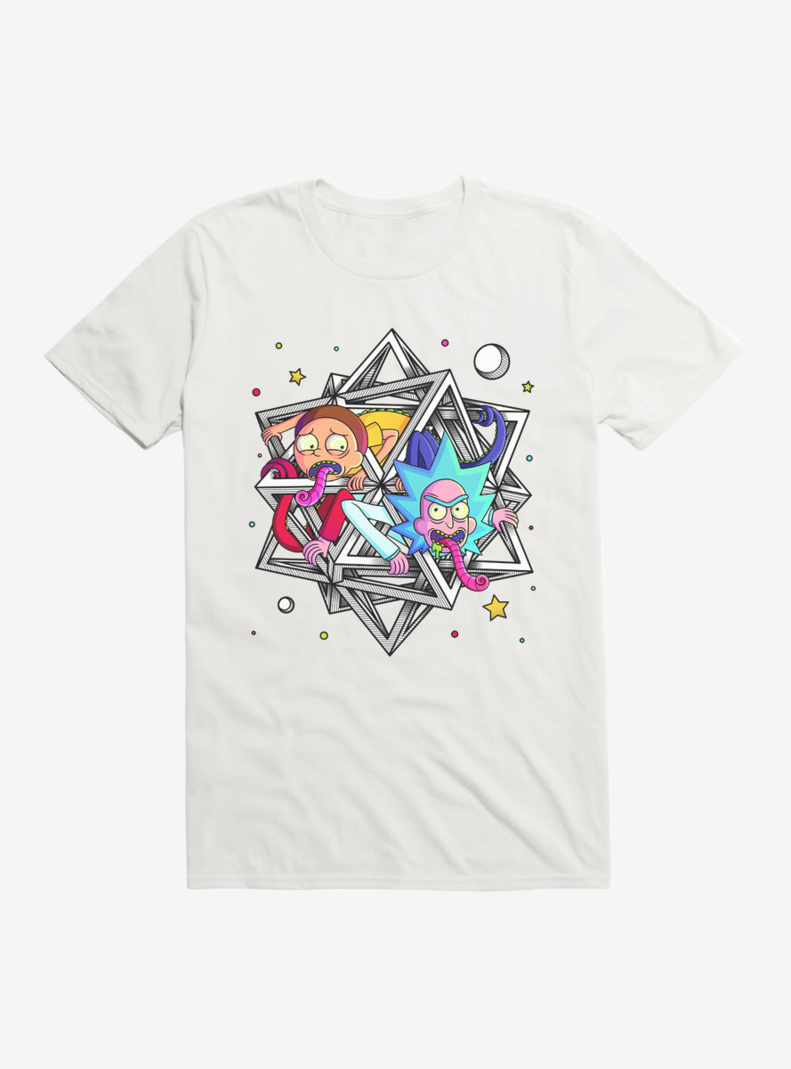 Rick And Morty Polyhedream T-Shirt