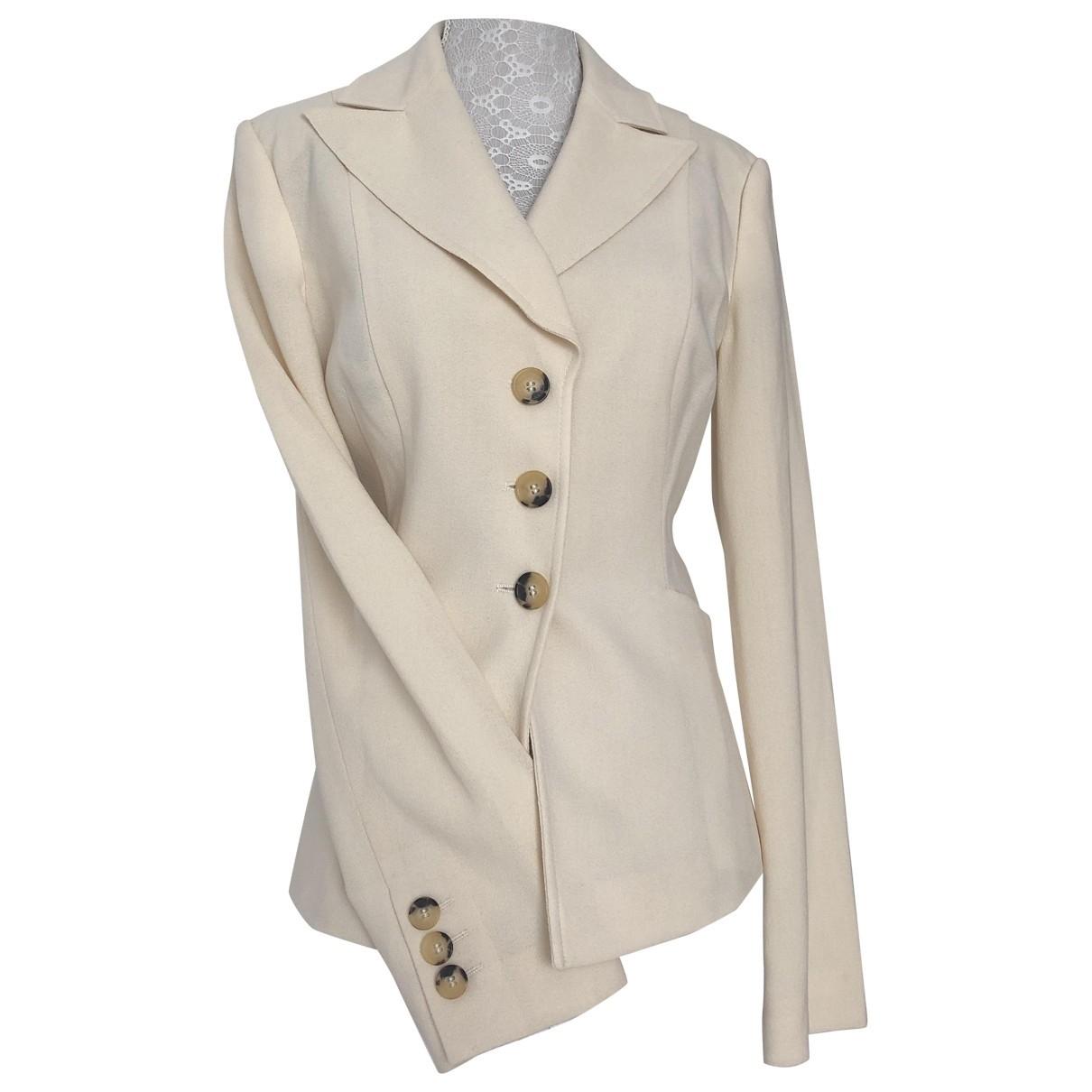 Red Valentino Garavani \N Beige Wool jacket for Women 44 IT