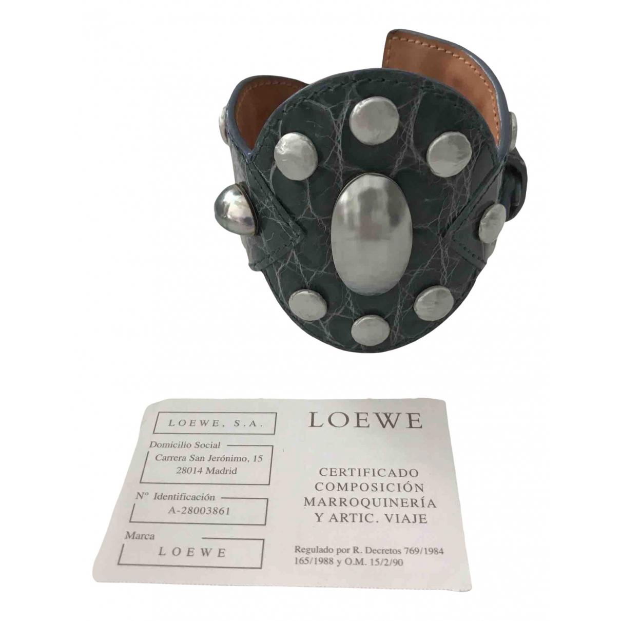 Pulsera de Cocodrilo Loewe