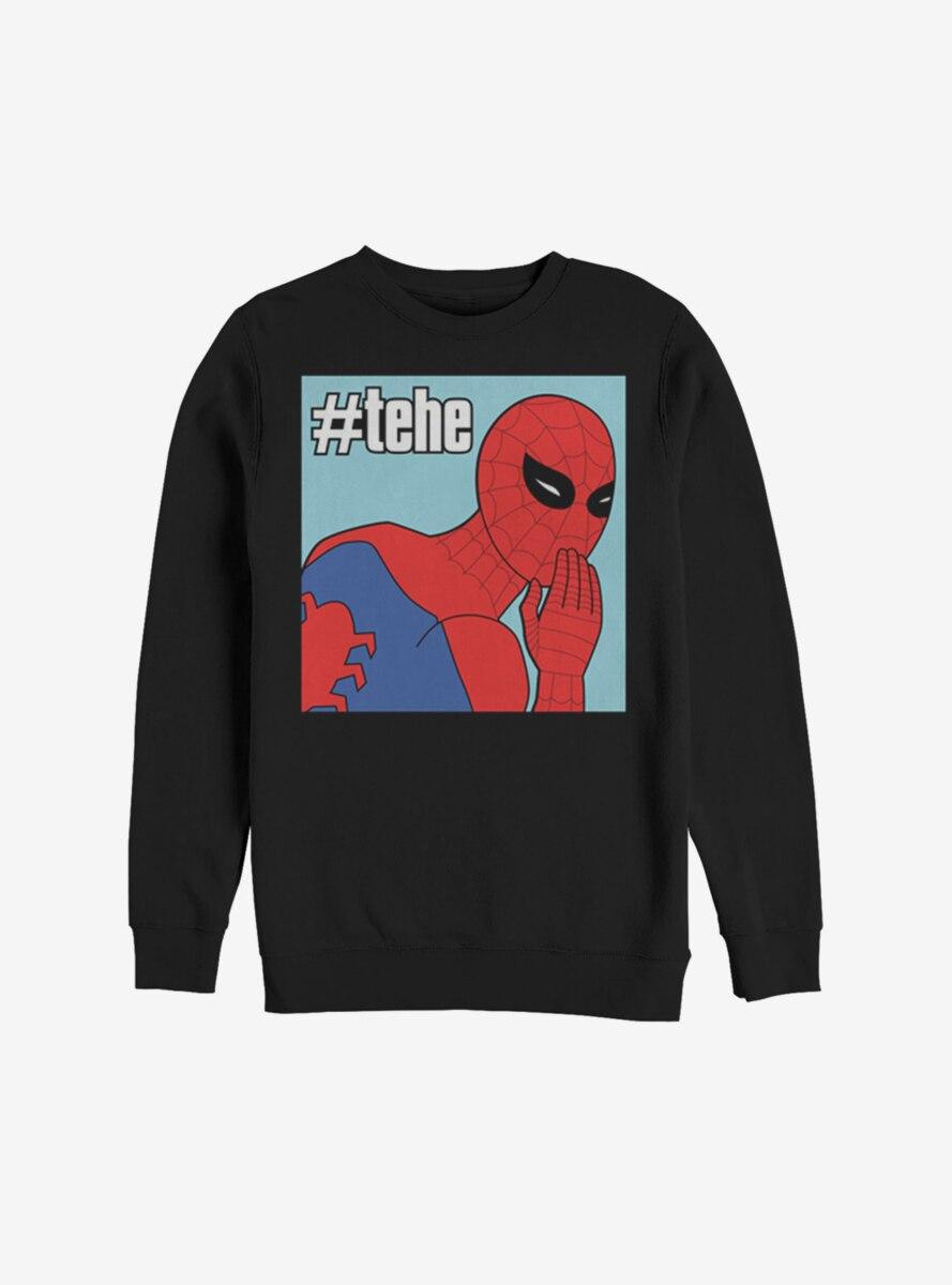 Marvel Spider-Man #Tehe Sweatshirt