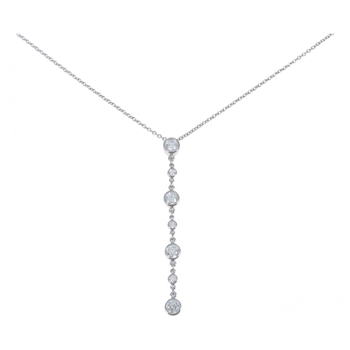 Tiffany & Co \N Kette in  Silber Platin