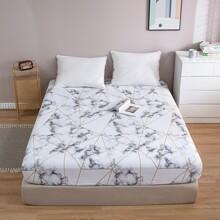 Decke mit Marmor Muster