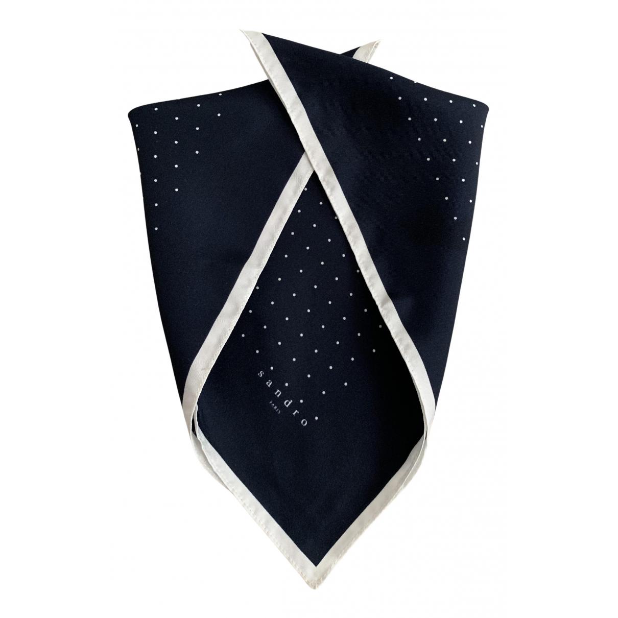 Sandro N Blue Silk scarf & pocket squares for Men N