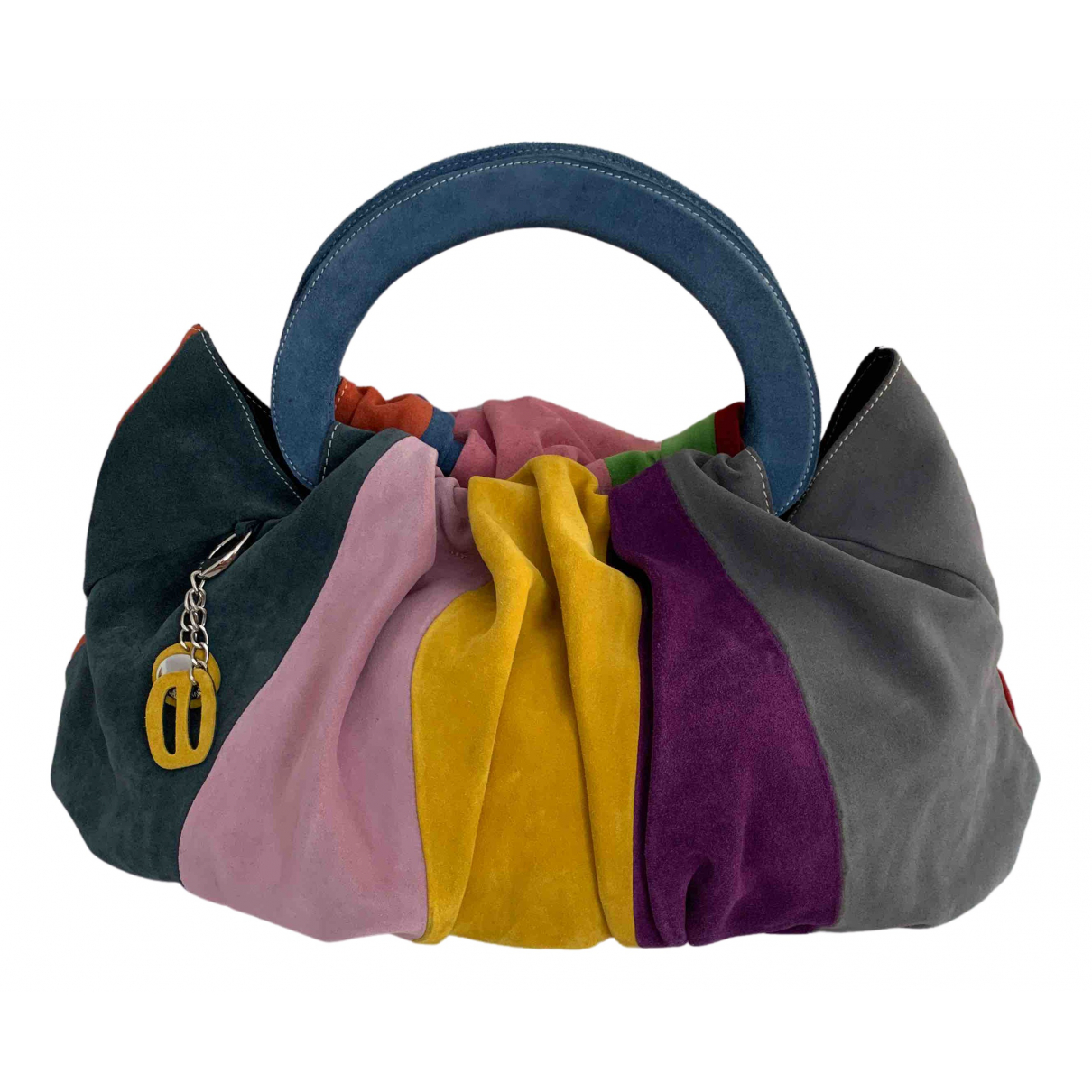 Non Signé / Unsigned N Multicolour Leather handbag for Women N