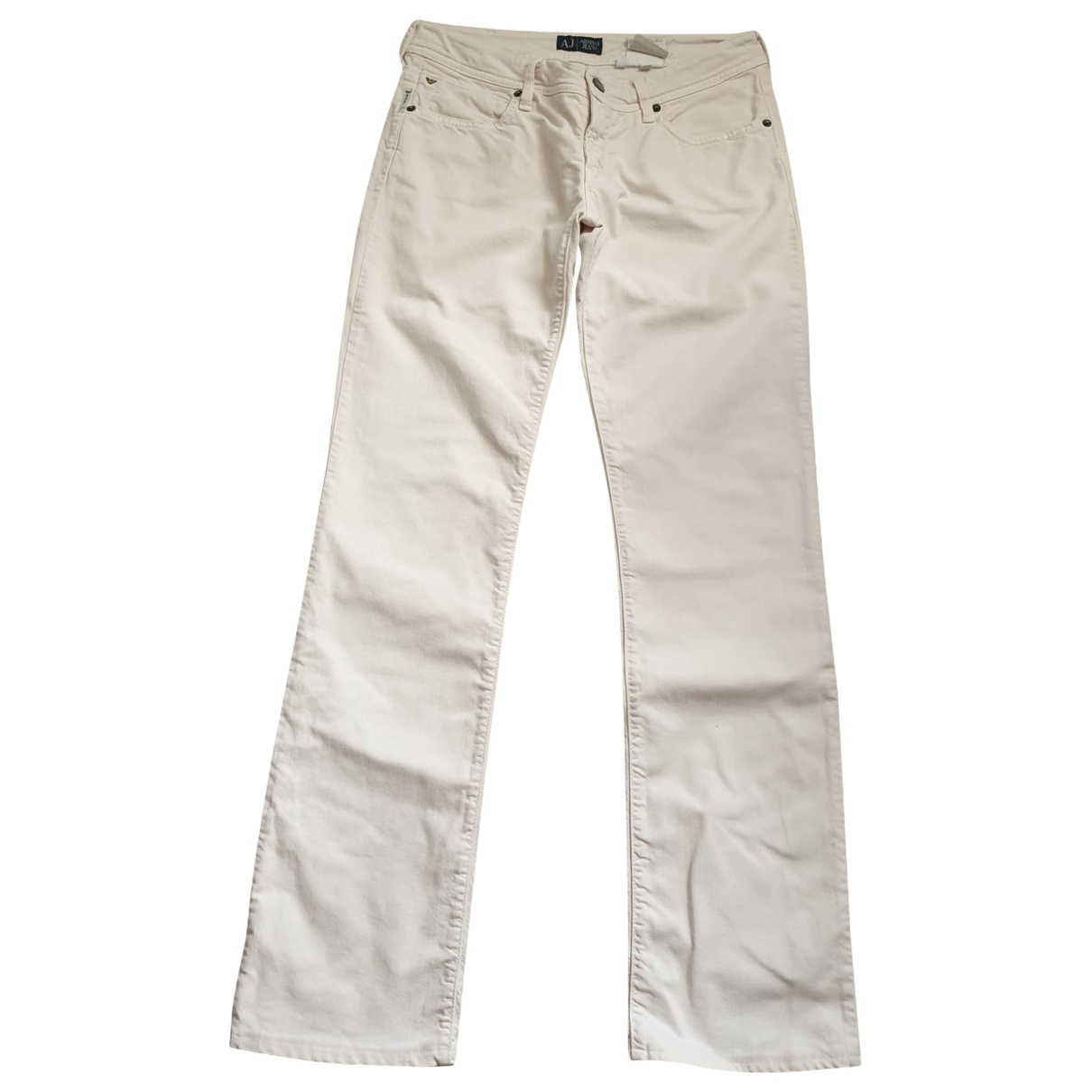 Armani Jeans \N Cotton - elasthane Jeans for Women 28 US