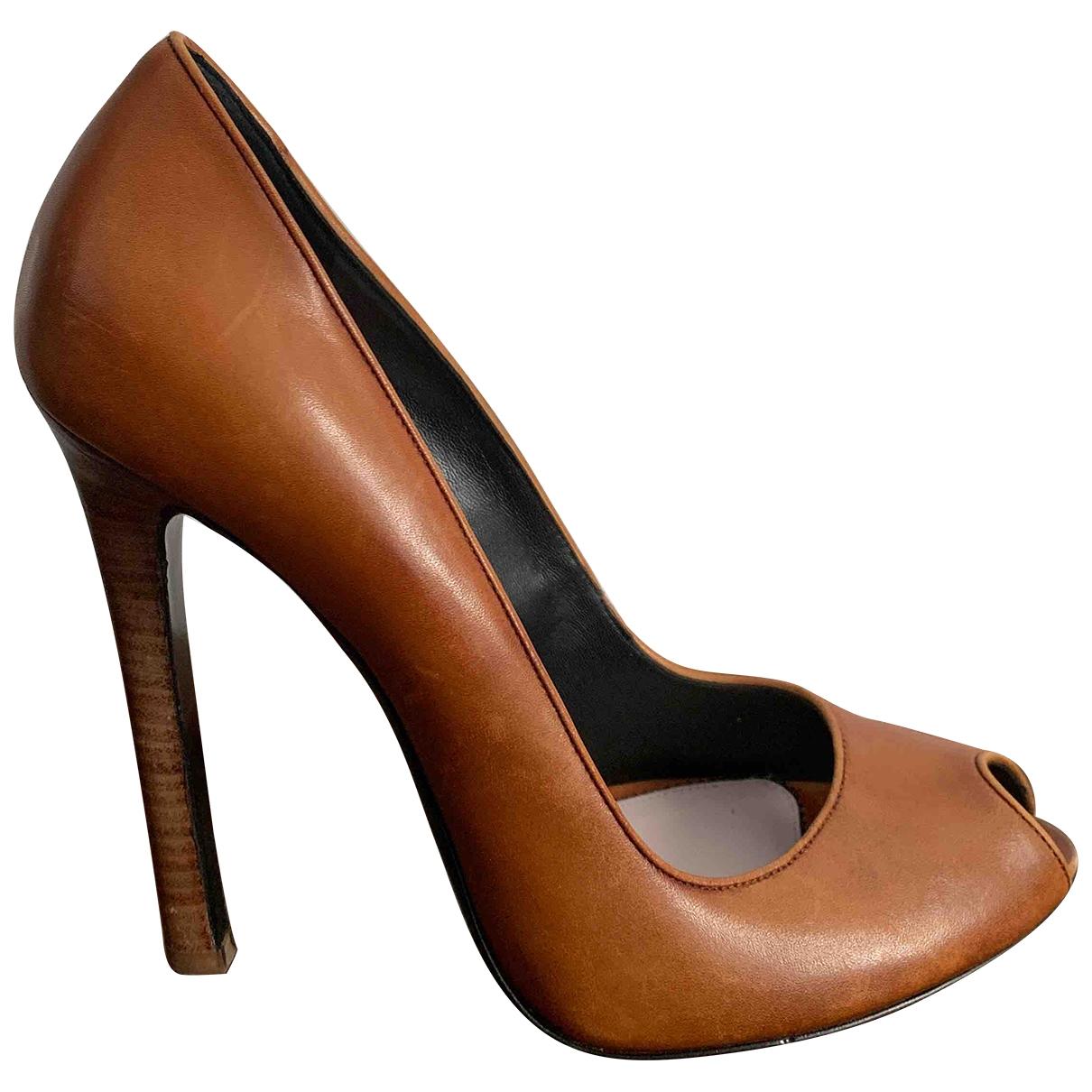 Tom Ford - Escarpins   pour femme en cuir - marron
