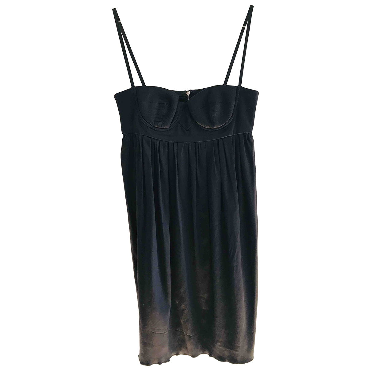 Dolce & Gabbana \N Black Silk dress for Women 38 FR
