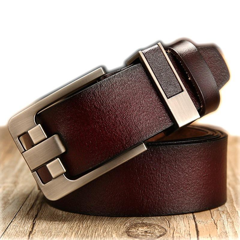 Ericdress Top Leather Wide Men Business Belt