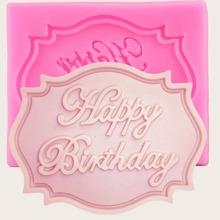 Silicone Birthday Cake Mold