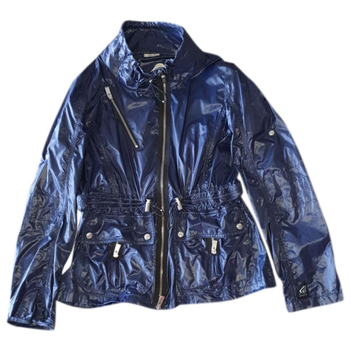 Hogan - Veste   pour femme - bleu
