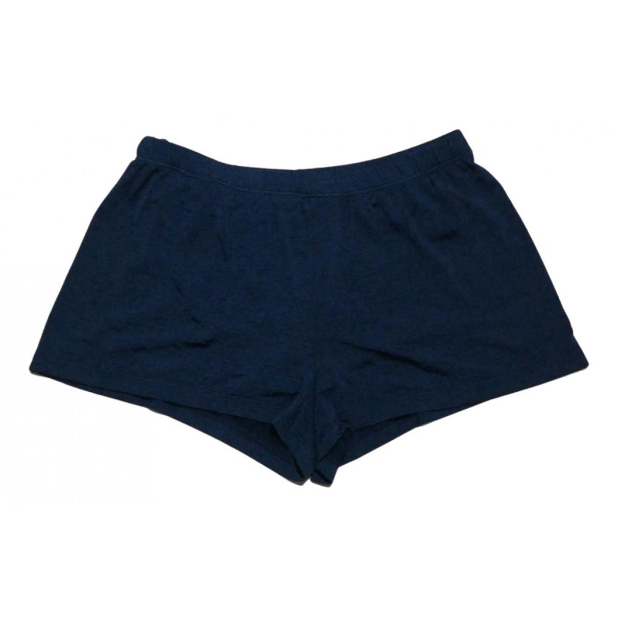 Emporio Armani \N Badeanzug in  Blau Polyester