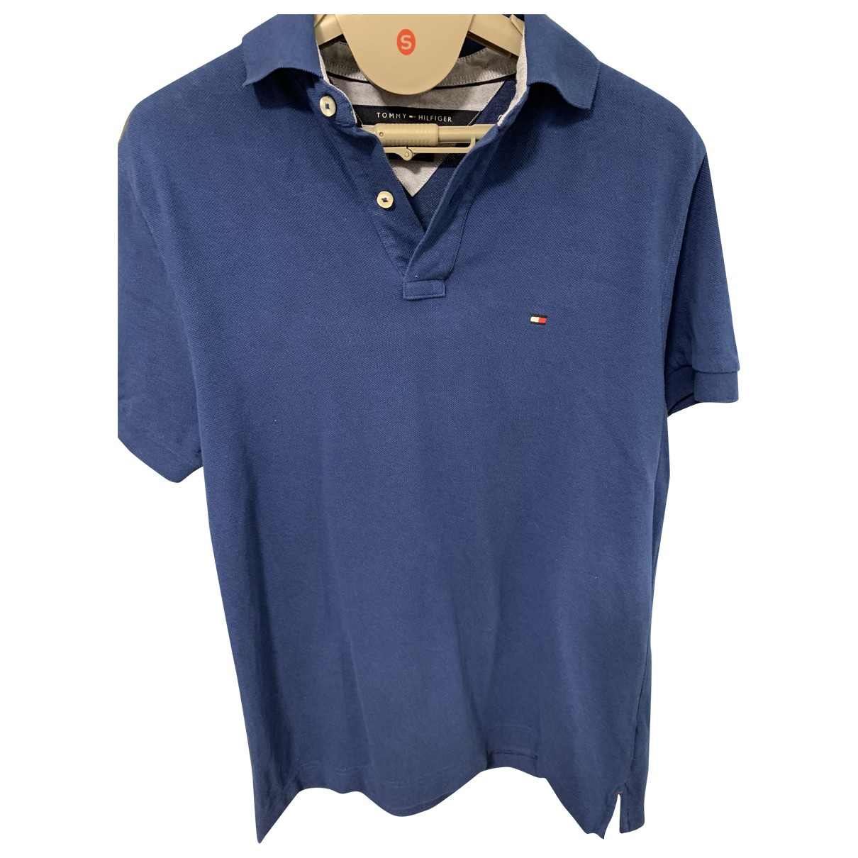 Tommy Hilfiger \N Blue Cotton Polo shirts for Men S International