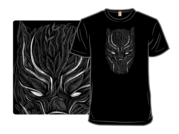 Black Planther T Shirt