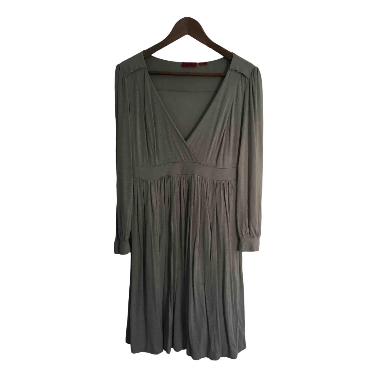 Hugo Boss \N Kleid in  Grau Viskose