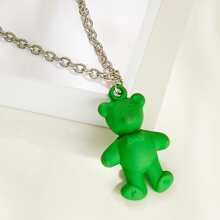 Bear Charm Necklace