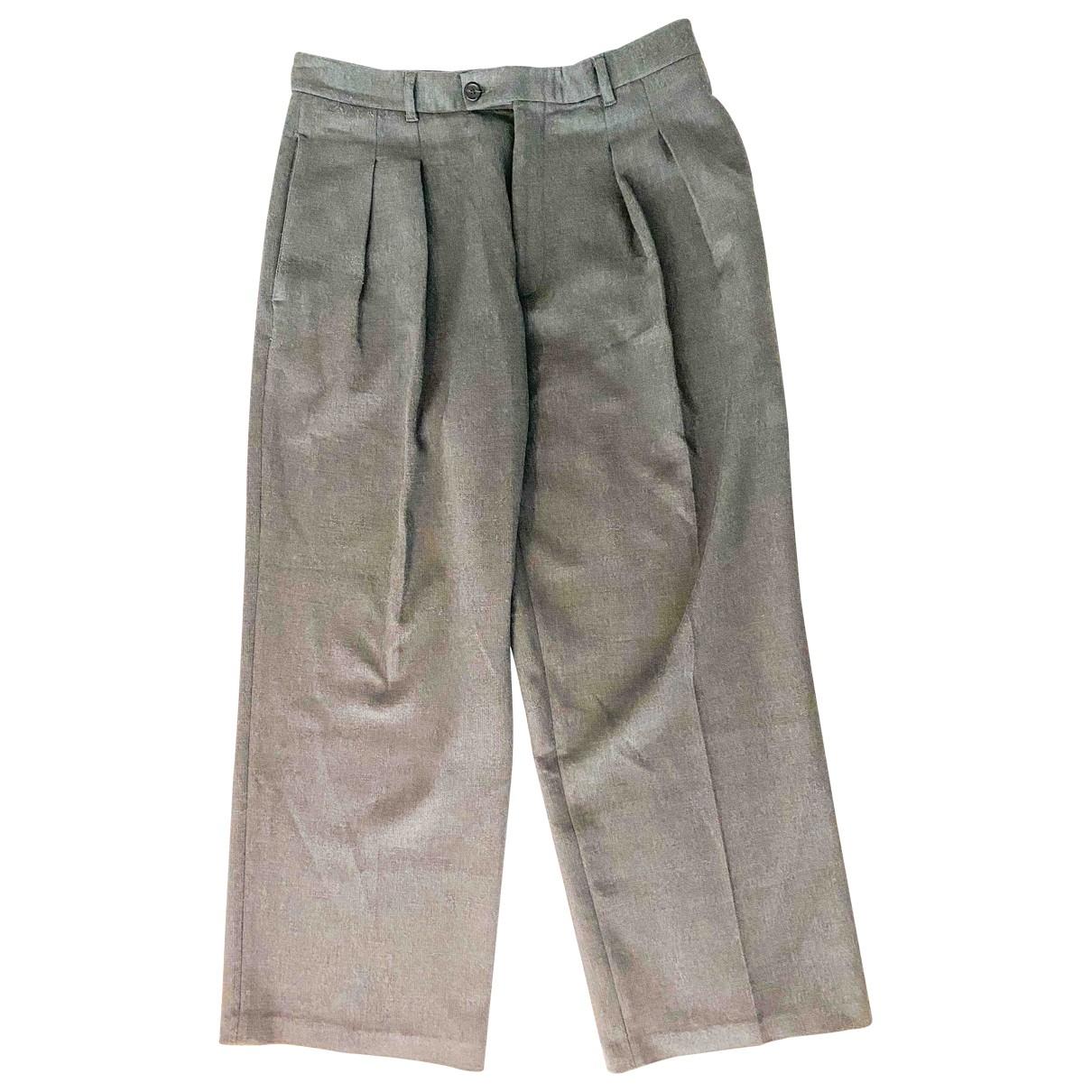 Raf Simons - Pantalon   pour homme - gris