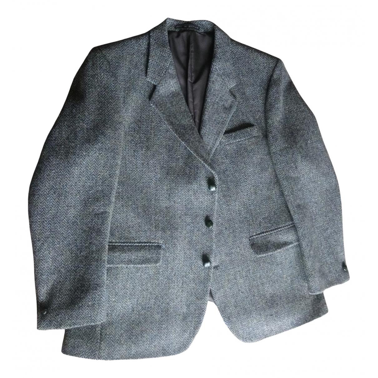 Harris - Vestes.Blousons   pour homme en laine - vert