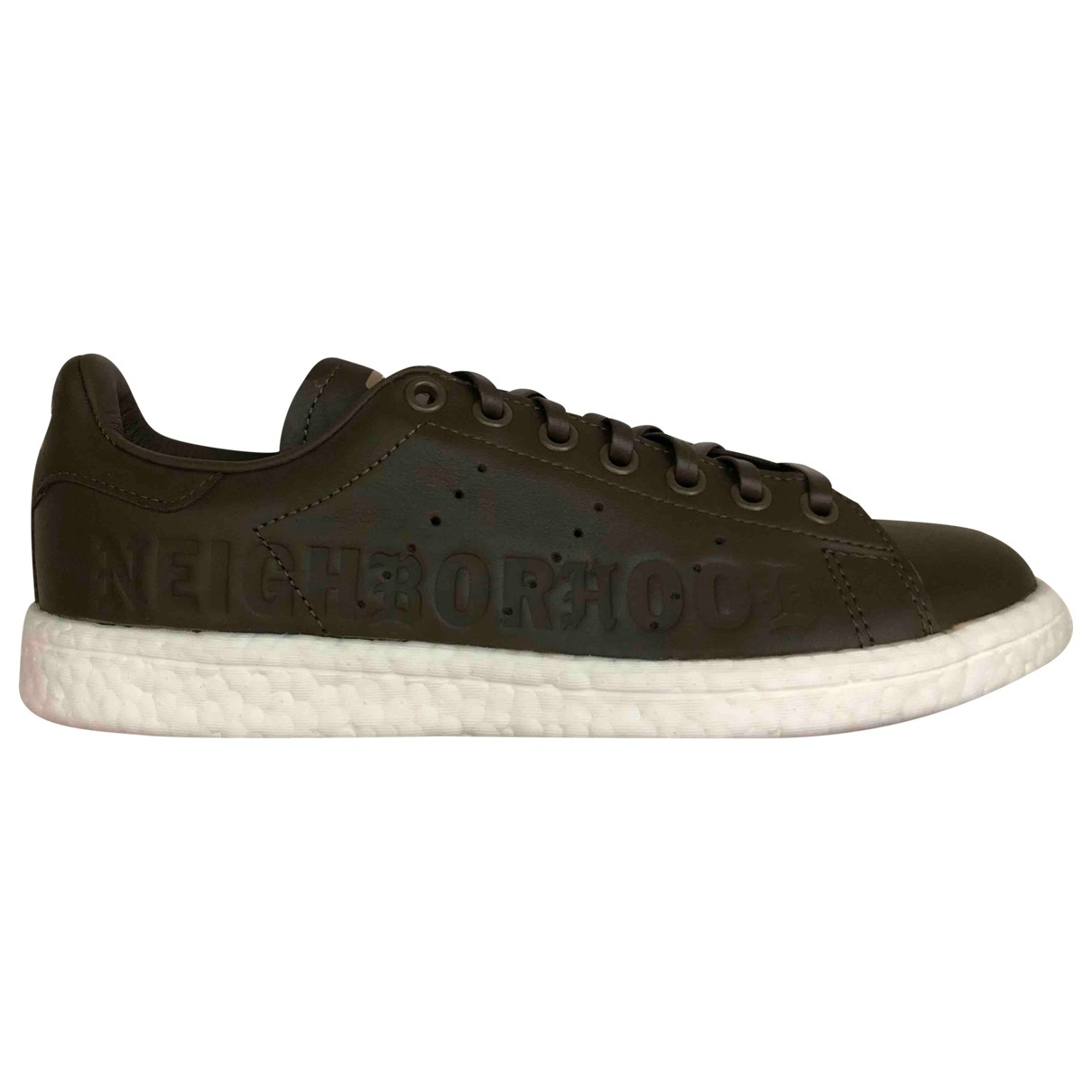Adidas Stan Smith Green Leather Trainers for Men 40 EU