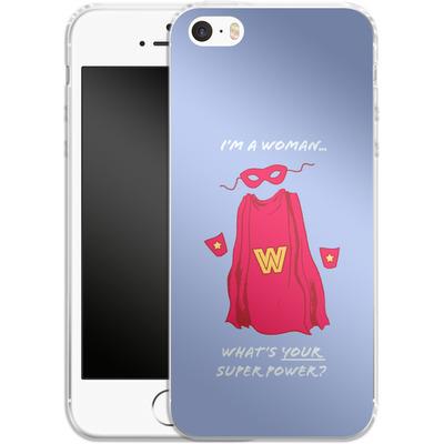 Apple iPhone 5 Silikon Handyhuelle - Superpower von caseable Designs