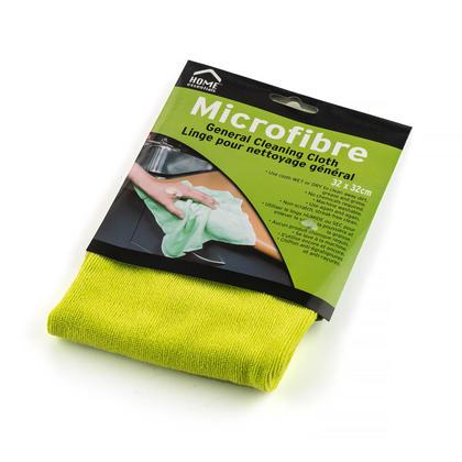 Chiffon de nettoyage polyvalent réutilisable en microfibre, 12.5
