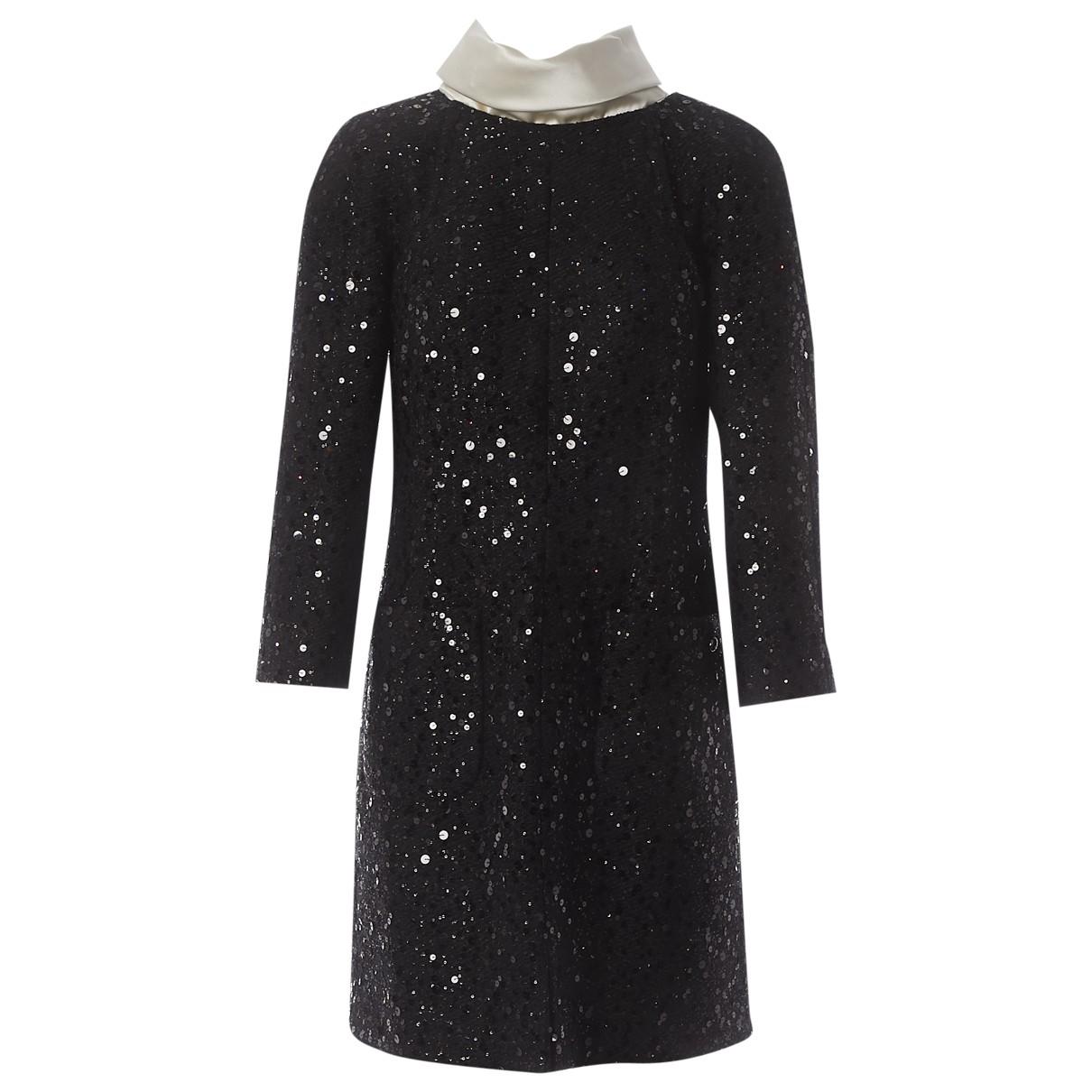 Chanel \N Kleid in  Schwarz Polyester