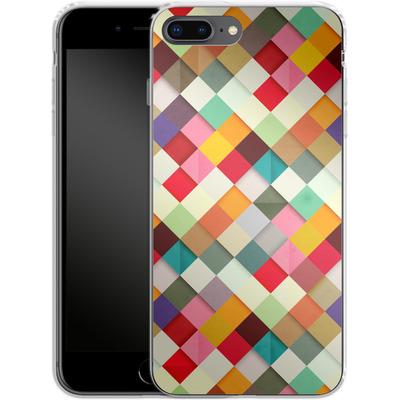 Apple iPhone 8 Plus Silikon Handyhuelle - Pass This On von Danny Ivan