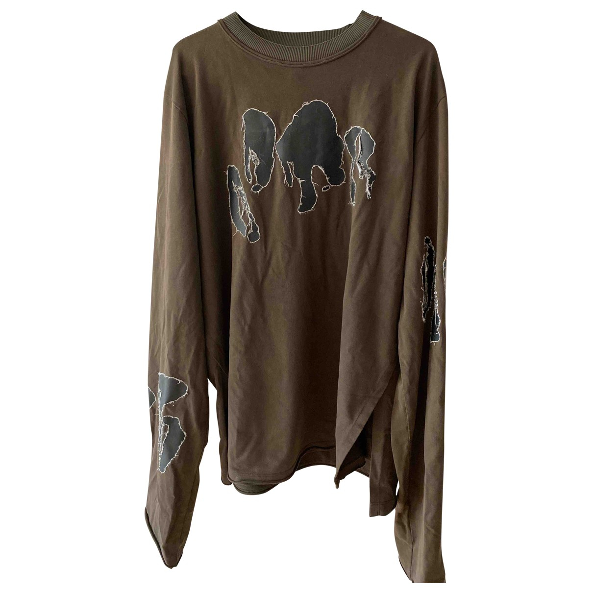 Damir Doma \N Khaki Cotton Knitwear & Sweatshirts for Men M International