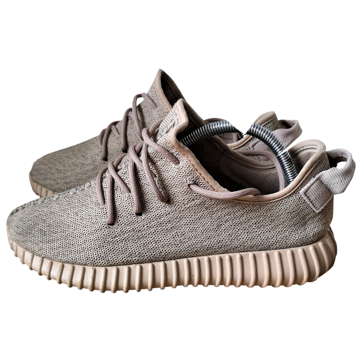 Yeezy X Adidas - Baskets Boost 350 V1 pour homme en toile - camel