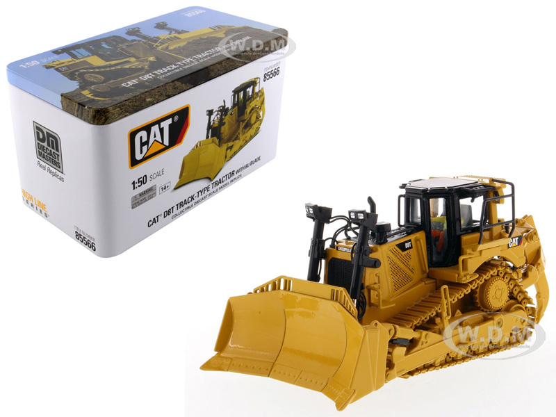 CAT Caterpillar D8T Track Type Tractor Dozer with 8U Blade and Operator